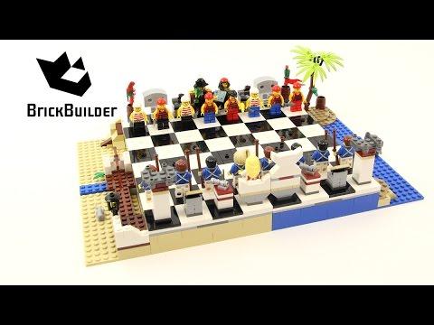 Vidéo LEGO Pirates 40158 : Jeu d'échecs