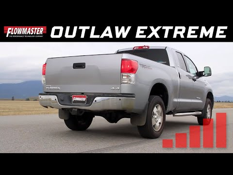 2009-20 Toyota Tundra 4.6L, 5.7L - Outlaw Extreme Cat-back Exhaust System 817708