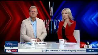 Jarosław Jakimowicz wyśmiał na wizji dziennikarza TVP, bo myślał, że jest z TVN