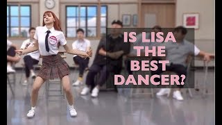 8 Reasons Why Lisa is the #1 Dancer | BLACKPINK CUTE AND FUNNY MOMENTS - dooclip.me