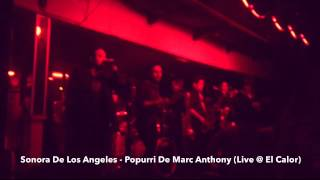 Sonora De Los Angeles - Popurri de Marc Anthony