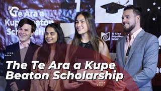 youtube video thumbnail - The Te Ara a Kupe Beaton Scholarship