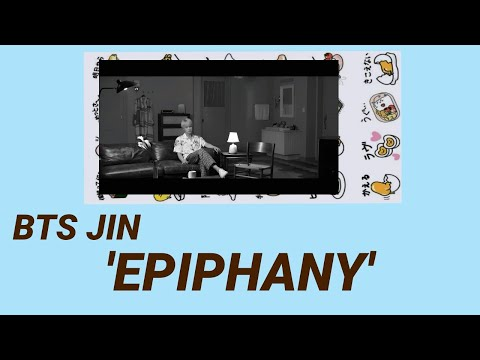 BTS 방탄소년단 Jin 진 Epiphany Lyrics (Color Coded Lyrics /Rom/INA