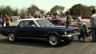 preview picture of video 'Iran Tehran, Ford Mustang lovers عاشقان فورد موستانگ تهران ايران'