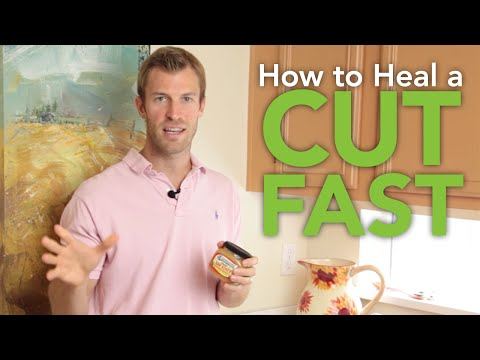 How to Heal a Cut Fast