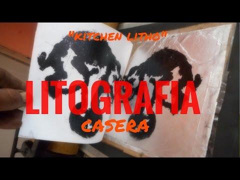 litografía casera  -