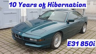 First Drive in 10 Years - V12 BMW E31 850i Revival - Project Bilbao: Part 2