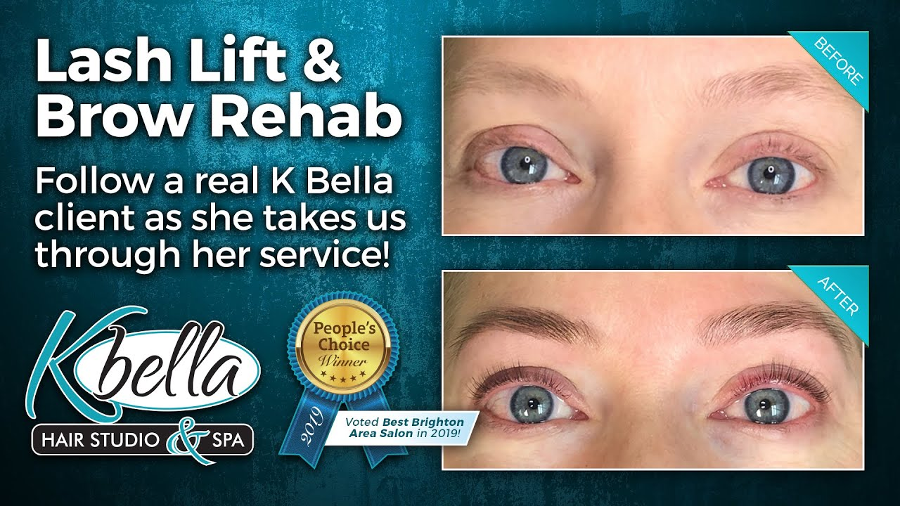 Video: Lash Lifts & Brow Rehab at K Bella!