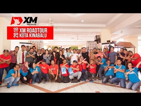Team CTC.FM bersama di XM Roadtour 2016 Kota Kinabalu