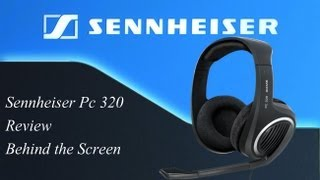 Sennheiser PC 320 Gaming Headset - Review   Behind the Screen [Ger] [HD]