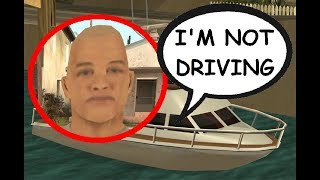 Who controls the boat(s) in the mission Amphibious Assault? Woozie mission 4 - GTA San Andreas