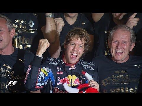 Sebastian Vettel Clinches Maiden World Title In Abu Dhabi