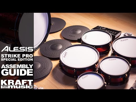 Alesis Strike Pro Special Edition - Assembly Guide