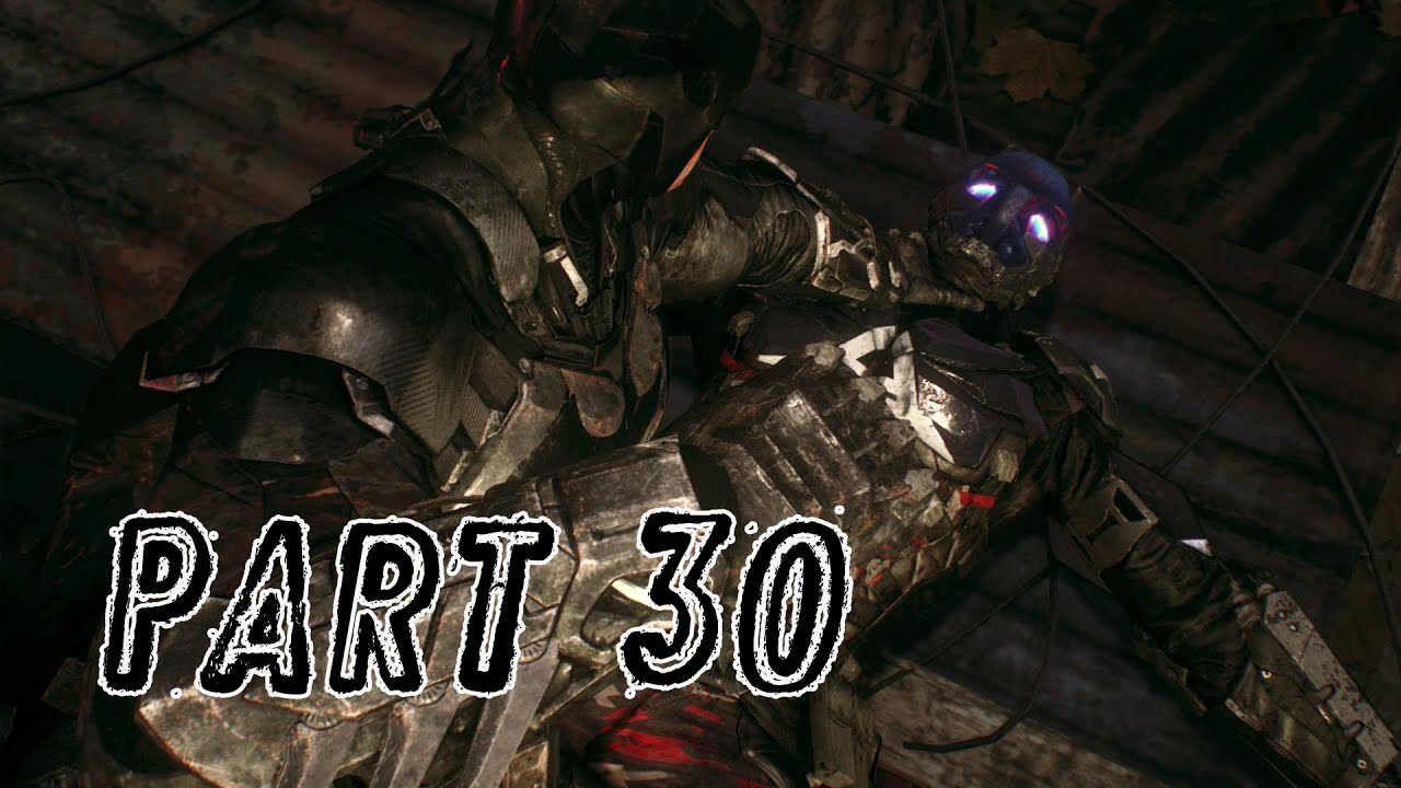 Batman: Arkham Knight – 30 – Cloudburst-Panzer Boss