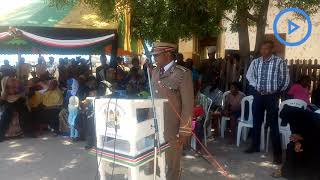 Lamu County Commissioner Irungu Macharia warns politicians against
