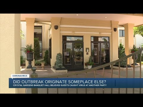 Southgate banquet hall believes guests caught virus at other party