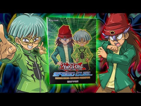 Yu-Gi-Oh! NEW! ULTIMATE PREDATORS SPEED DUEL STARTER DECK OPENING AND REVIEW 2019! REX AND WEEVIL!