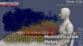 COVID-19: Humidification Helps - NHK WORLD-JAPAN