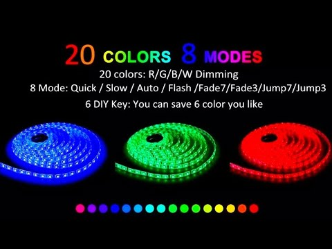 LED RGB лента с пультом ДУ MoRaVa / LED RGB strip with MoRaVa remote control
