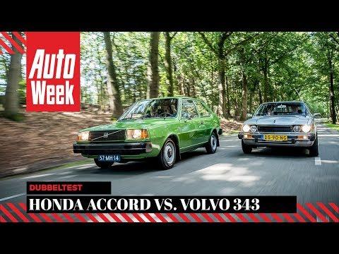Honda Accord vs. Volvo 343 - Classics Dubbeltest