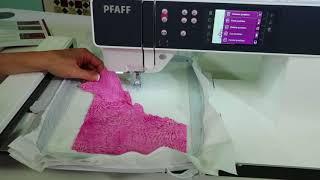 PFAFF Creative 3.0 71 Embroidery Applique