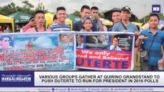 Million people's call for Duterte