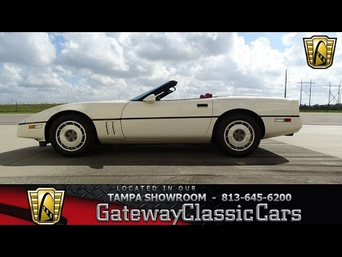Video of '87 Corvette - KM6M