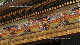 妙義神社の動画素材, 4K写真素材