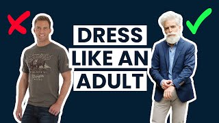 How To Dress Well In Your 40s, 50s And Beyond | Older Guy Style Tips
