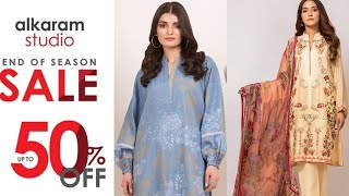 Alkaram Clearance Sale 2020 | Alkaram Studio summer clearance sale 50% off | pret | flat 35 and 50%