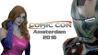 Amsterdam Comic Con experience 2016 - Cosplay music Video