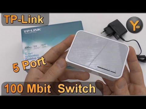 Kurztest: TP-Link TL-SF1005D / 5-Port Netzwerk Switch 10/100 Mbit
