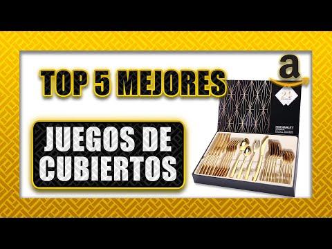 🍴 Top 5 ► Mejor Juego de CUBIERTOS   Cubertería Amazon 2020 🥄