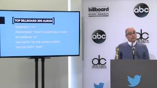 Top Billboard 200 Album Finalists - BBMA Nominations 2015