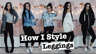 How I Style: Leggings I Comfy Outfits For The Fall