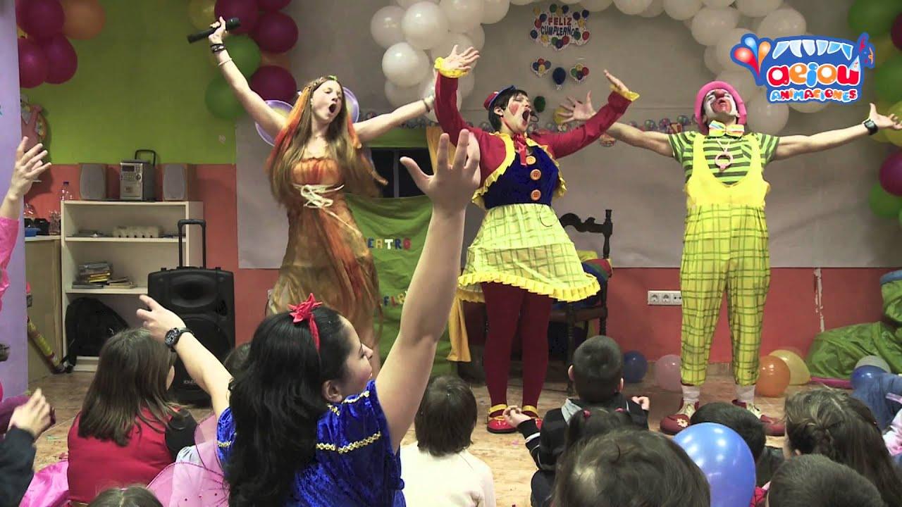 Payasos a domicilio para fiestas infantiles cumpleaños comuniones
