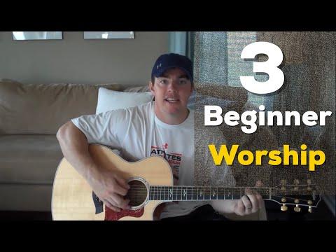 3 Beginner Worship Songs on Guitar (Easy to Play) (Matt McCoy)