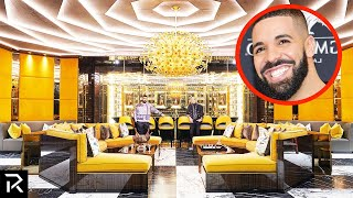Inside Drakes $100 Million Dollar Mansion