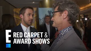 Ryan Gosling Dishes On Working With Emma Stone  E Live From The Red Carpet