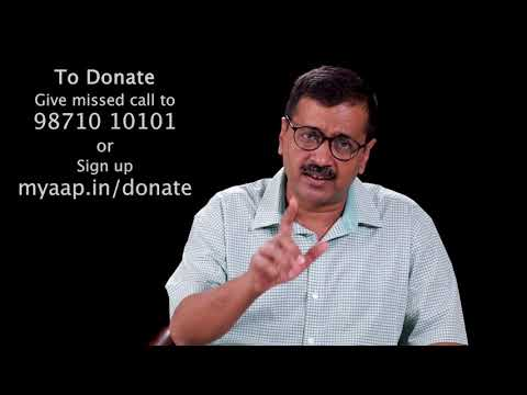 Donate Aam Aadmi Party For Better Future