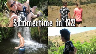 Summertime in New Zealand