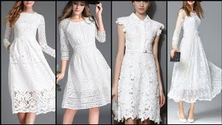 Gorgeous And Elegant Different Style White Formal Dresses 2020