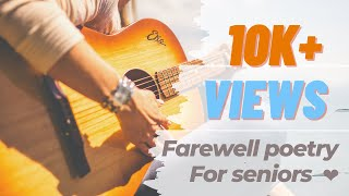 Farewell Poetry for seniors   2k16-2k20 Batch    Engineering Life Poetry    By Kanha