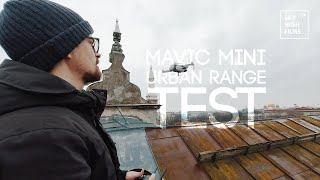 MAVIC MINI URBAN RANGE TEST | ROOFTOPS AND EVERYTHING