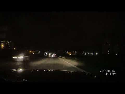 Пьяная автоледи за рулем  Ford Fiesta, выехала на встречку в Севастополе