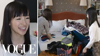 Cleaning House With Organizing Guru Marie Kondo | Vogue