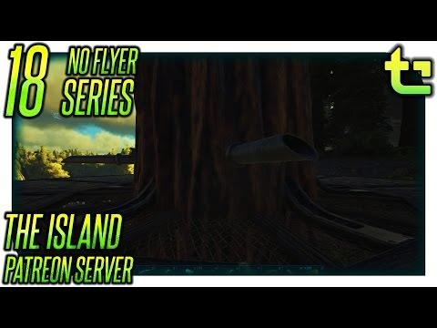 Ark The Island || No Flyer E18 - Tree Platform Sap || TimmyCarbine