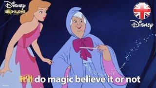DISNEY SING-ALONGS   Bibbidi-Bobbidi-Boo - Cinderella Lyric Video   Official Disney UK