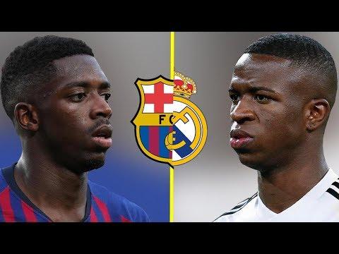 Ousmane Dembele VS Vinicius Junior - Who Is The Best Talent? - Amazing Skills & Goals - 2019