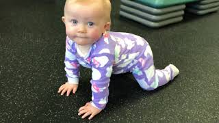 Technique Tuesday: 1 year old Ava teaches us how to do a perfect sit back!